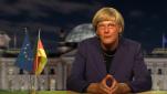 Merkels Kampfansprache für die Freiheit, vokalisiert durch Reiner Kröhnert