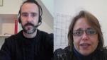 Weltnetz.tv-Redakteur Harald Neuber im Interview mit Sabine Schiffer