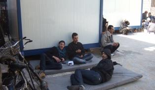 "Flüchtlinge im Auffanglager ""Al Andalus"", Homs"