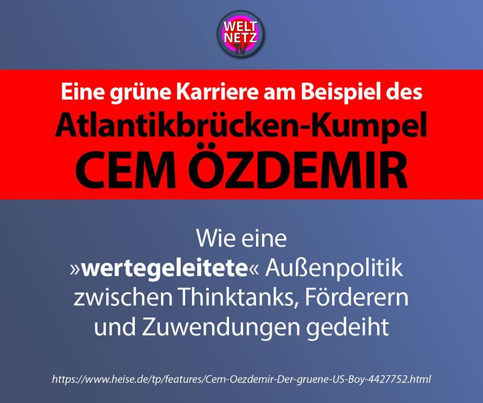 Eine grüne Karriere am Beispiel des Atlantikbrücken-Kumpel Cem Özdemir