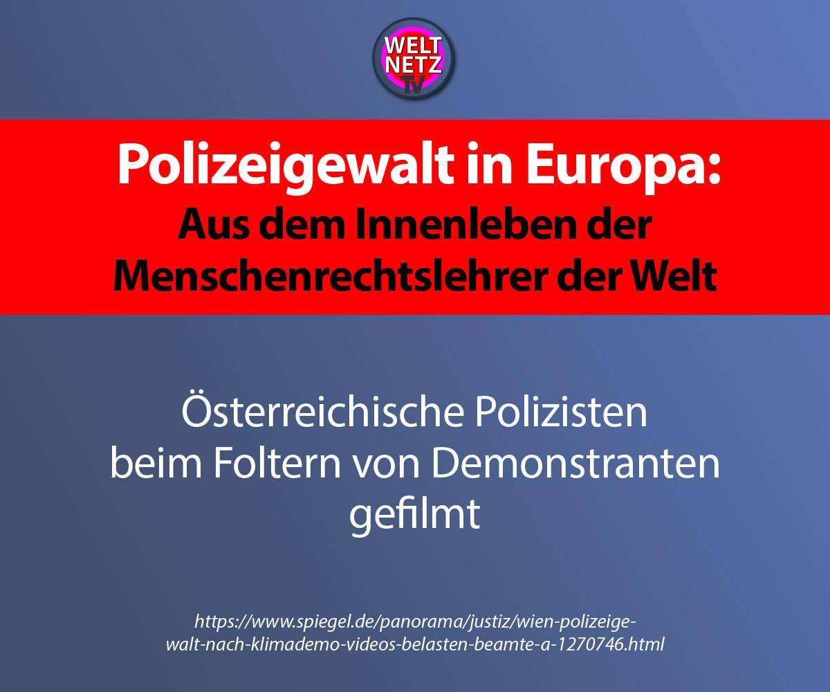 Polizeigewalt in Europa