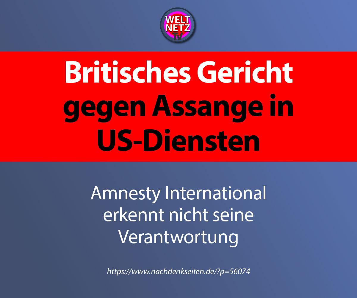 Britisches Gericht gegen Assange in US-Diensten