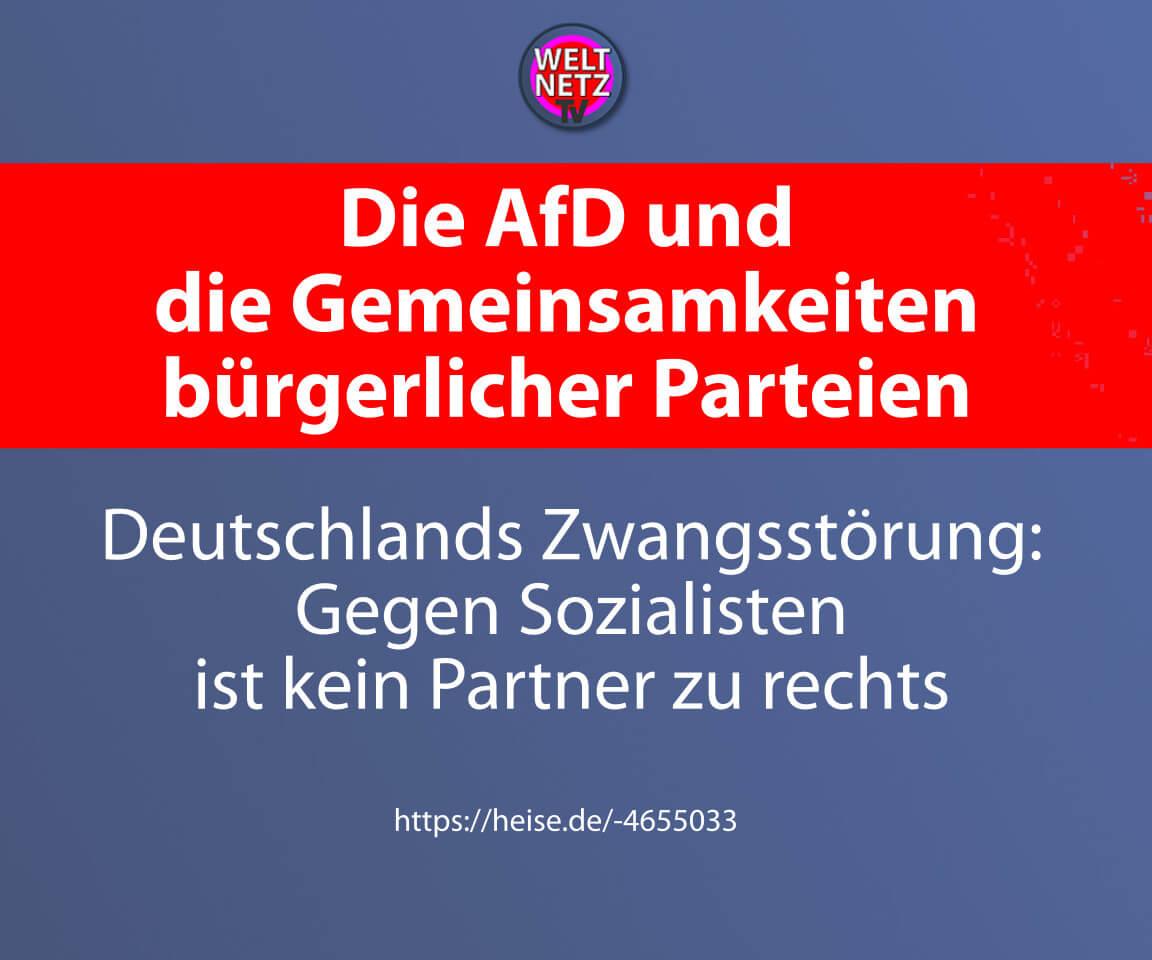 Die AfD und die Gemeinsamkeiten bürgerlicher Parteien
