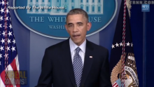 US-Präsident Barack Obama zum Urteil der Grand Jury
