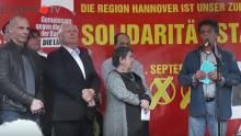 Diether Dehm, Oskar Lafontaine, Yannis Varoufakis