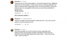 Anonymer rechtsextremistischer Hass
