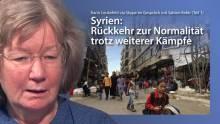 Karin Leukefeld via skype aus Damaskus