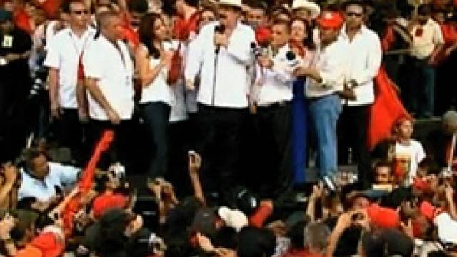 Democracy Now! -- Honduras