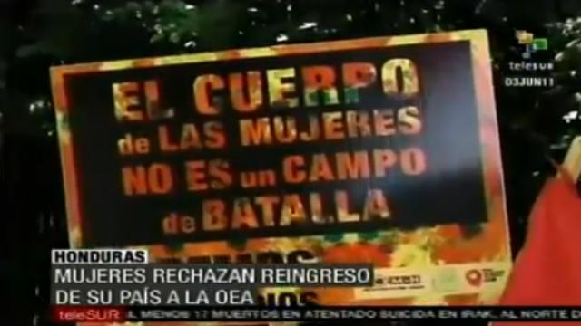Kritik an Rückkehr von Honduras in OAS