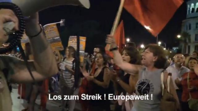 Streik.TV -- Die kritische Lage in Griechenland