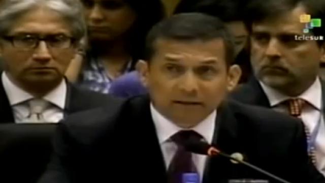 Perus Präsident Ollanta Humala