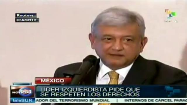 Linkspolitiker López Obrador