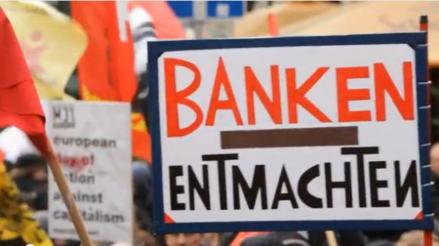 Blockupy Aktionswoche Frankfurt 2012