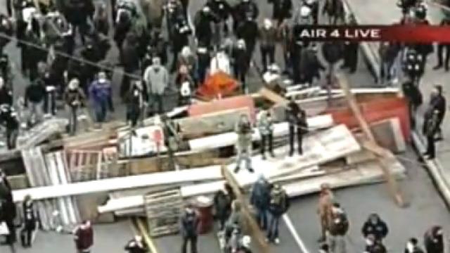 Hafenblockaden im Dezember 2011 in den USA