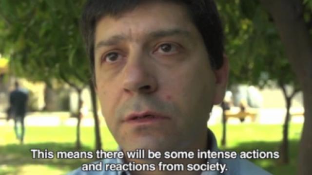 Athen: Aufruf zum Widerstand nach öffentlichem Selbstmord