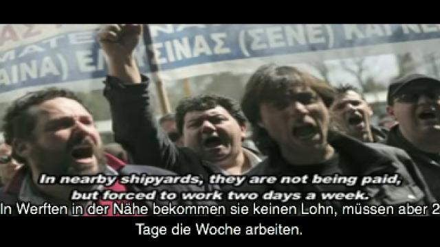 Film über die Streikwelle in Griechenland seit Ende 2011