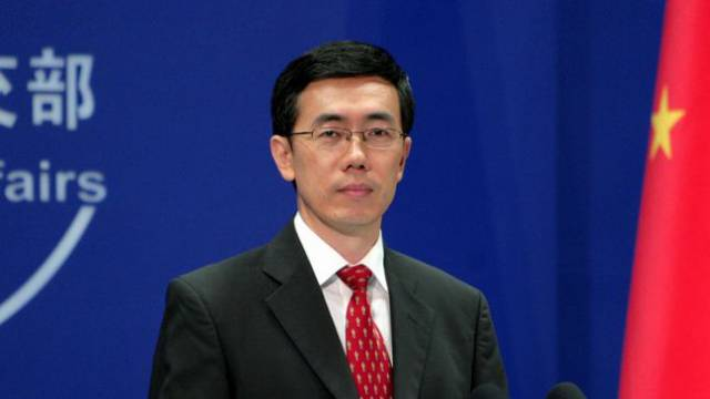Chinas Außenamtssprecher Liu Weimin