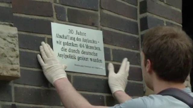 Gedenken der Opfer deutscher Asylpolitik