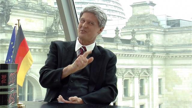 Reiner Kröhnert ist Bundespräsident Joachim Gauck