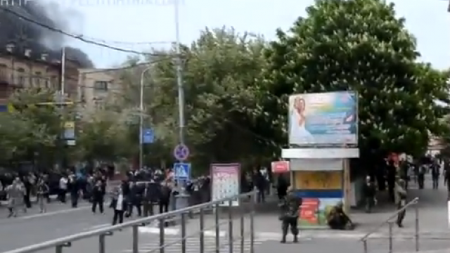 Eskalation in Mariyupol