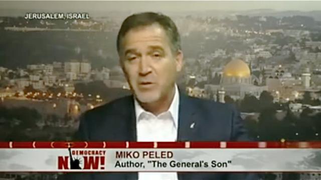 "Miko Peled, Autor des Buches ""Der Sohn des Generals"""