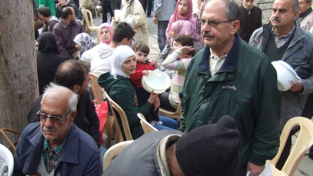 im Jesuitenkonvent in Homs, Foto: Karin Leukefeld