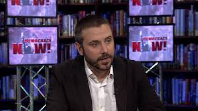 "Jeremy Scahill, Autor der Buches ""Dirty Wars"""