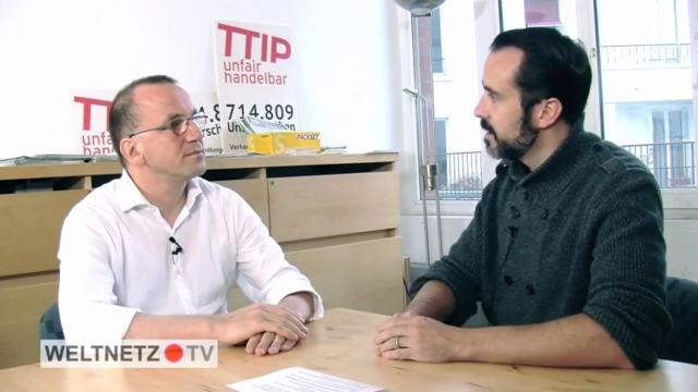 Harald Neuber (weltnetz.tv) im Gespräch mit Peter Fuchs (PowerShift e.V.)