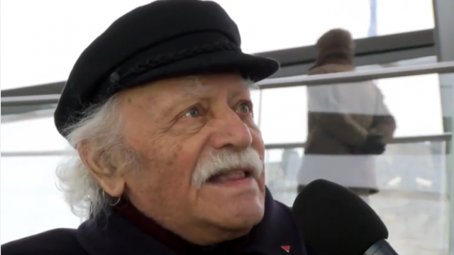 Manolis Glezos, griechischer Widerstandskämpfer