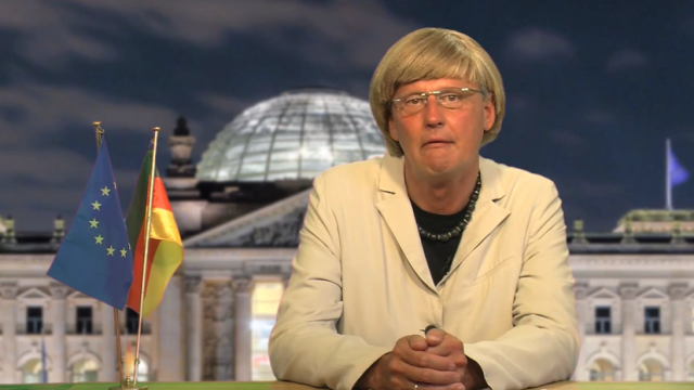 Die Kanzlerin wendet sich ans Volk: Think locus - eat globus!
