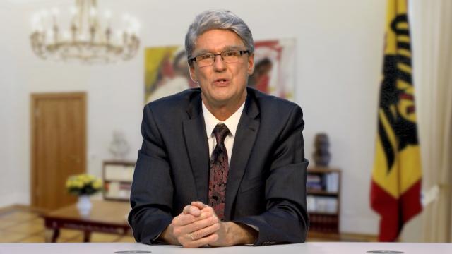 Reiner Kröhnert als Joachim Gauck