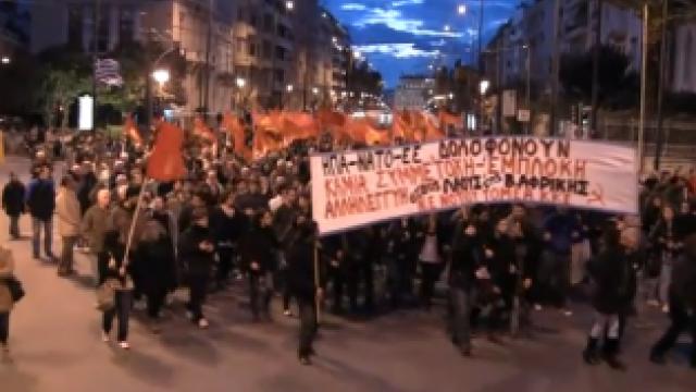 Die Kommunistische Partei Griechenlands (KKE) verurteilt den militärischen Angriff gegen Libyen