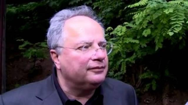 Nikos Kotzias, Außenminister Griechenlands, im Gespräch mit weltnetz.tv