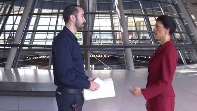 Harald Neuber (weltnetz.tv) Im Gespräch mit Sahra Wagenknecht (Die Linke)