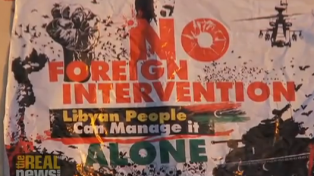 Wir wollen keine militärische Intervention