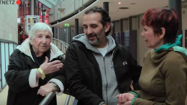 Esther Bejarano und Kutlu Yurtseven