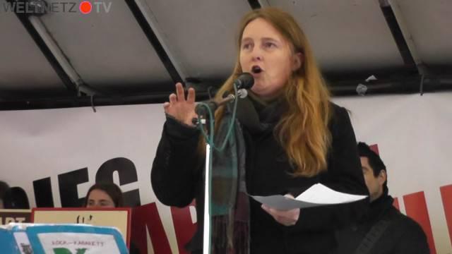 Claudia Haydt von der Informationsstelle Militarisierung IMI