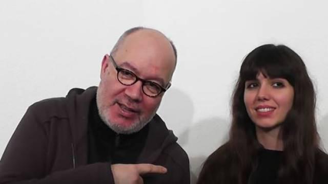 Ioanna Kriona und Asteris Koutoulas