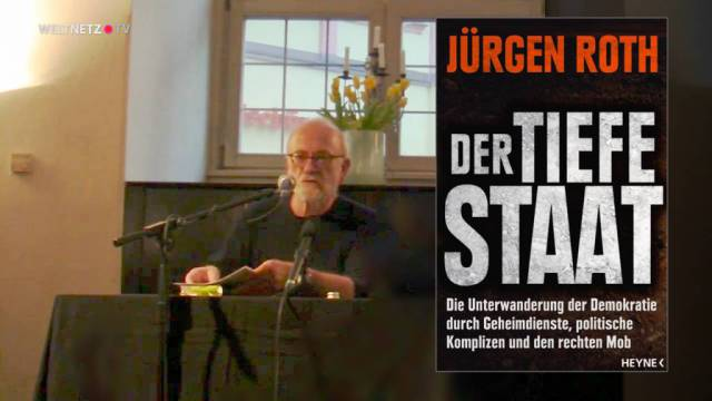 """Jürgen Roth """"Der tiefe Staat"""""""