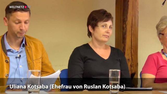Ehefrau von Ruslan Kotsaba