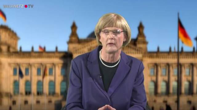 Reiner Kröhnert, Angela Merkel