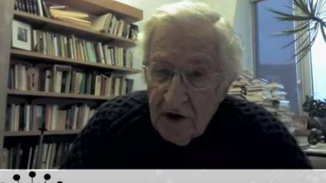 Noam Chomsky, Joseph Gerson & John Lindsay Poland