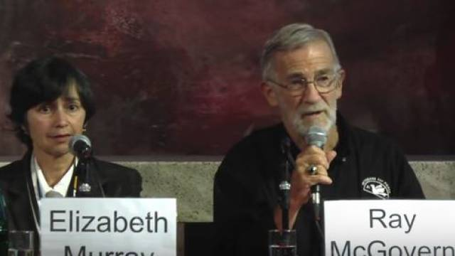 Ray McGovern, Elizabeth Murray
