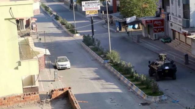 Türkische Armee beschießt Wohnviertel