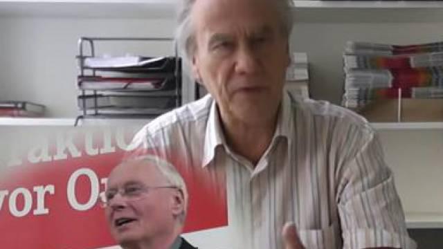 Oskar Lafontaine, Stopp Ramstein
