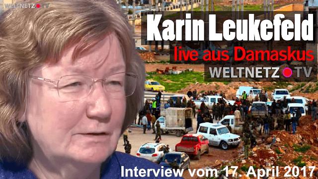 Karin Leukefeld live aus Damaskus