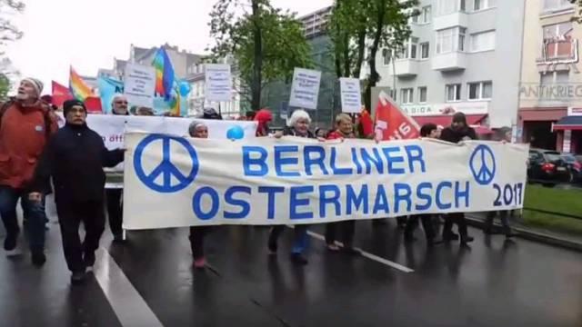 Ostermarsch 2017 in Berlin