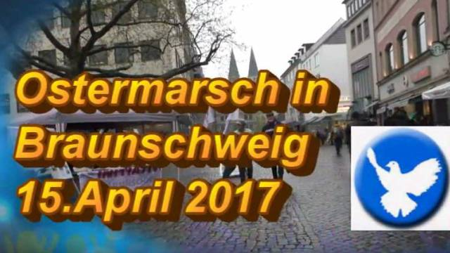Ostermarsch 2017 in Braunschweig