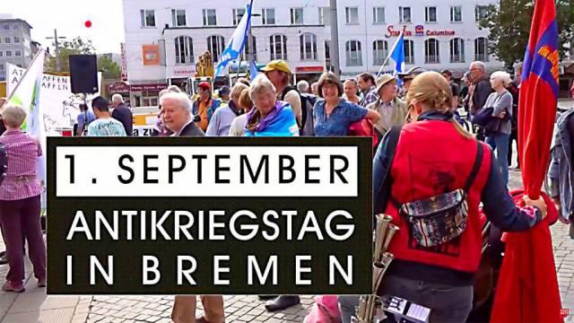 Antikriegstag im Bremen