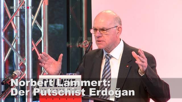 """Norbert Lammert auf der Konferenz """"Quo vadis Deutschland - Türkei?"""""""